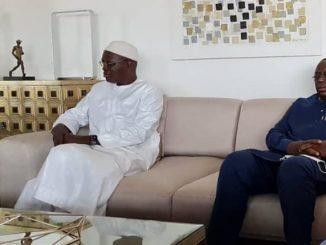 Décès de la mère de Khalifa Sall : Macky Sall présente ses condoléances chez l'ex maire